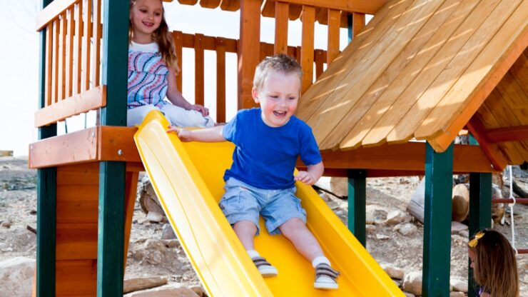 Best Outdoor Playsets for Toddlers