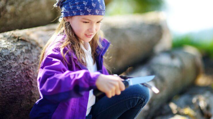 Best Safest Pocket Knife for Kids