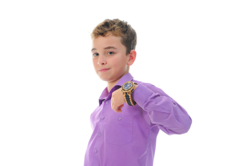 gold watch for kid