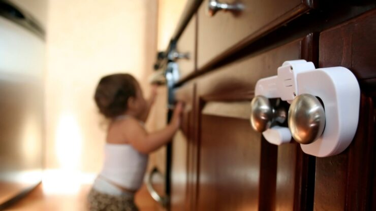 Best Baby Proof Cabinets Without Drilling