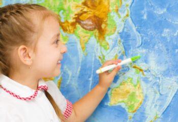 Best World Map for Kids