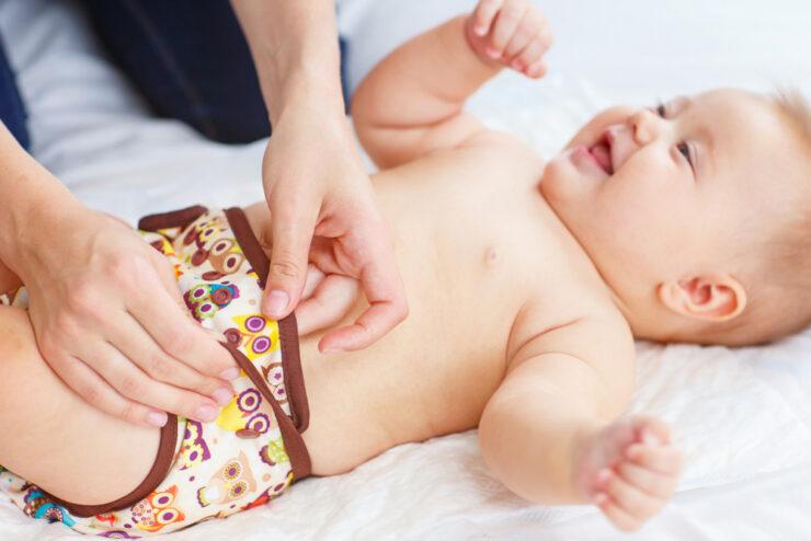 diaper for skinny baby