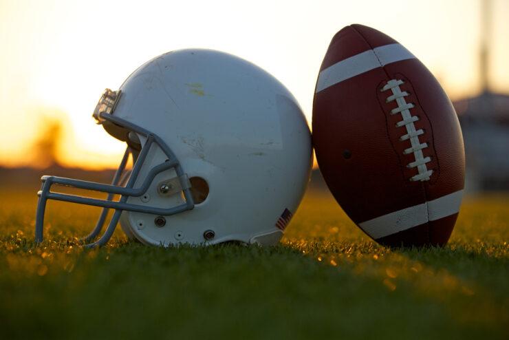 youth football helmet