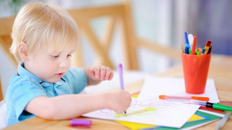 Best Art Table For Kids