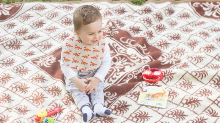 Super Soft Absorbent ; Safe for Teething |Days of The Week Baby Bibs set of 7 Clean Colorful Feeding All Week Long |Baby Bibs for Girls /& Boys BABY BANDANA DROOL BIBS in 7 Adorable Styles for Fun