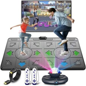 FWFX Dance Mat for Kids and Adults Musical Electronic Dance Mats with HD Camera