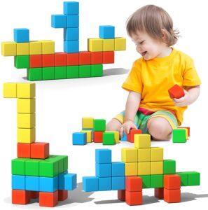 Large Magnetic Building Blocks