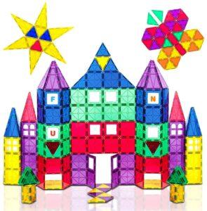 Playmags 100-Piece Colorful Tile Set