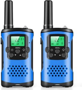 Vivibyan Walkie Talkies for Kids, Mini 22 Channels Radio Toy for 3-12 Year Old Boys Girls Gift