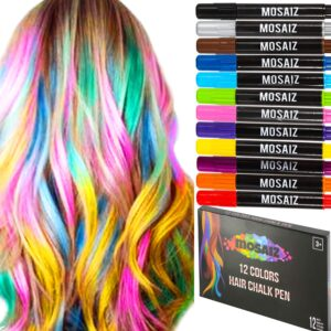 Washable Temporary Hair Color Chalks
