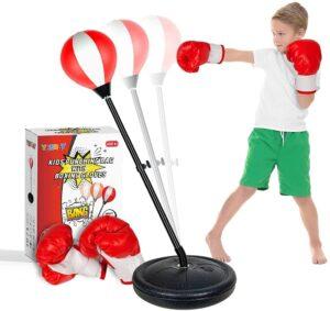 YEEBAY Punching Bag for Kids Age 4, 5, 6, 7, 8 Years Old Boys